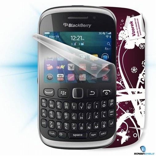 ScreenShield fólie na displej + skin voucher (včetně poplatku za dopravu k zákazníkovi) pro BlackBerry 9320 Curve