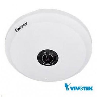 Vivotek FE9191, 7.9 Mpix, 20sn/s, obj. 1.29mm (360°), DI/DO, audio, Mic. In, PoE, IR-Cut, MicroSDXC, 3DNR, vnitřní