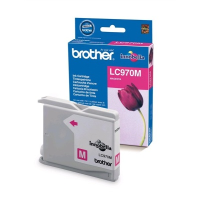 BROTHER INK LC-970M magenta (EW*) cca 300