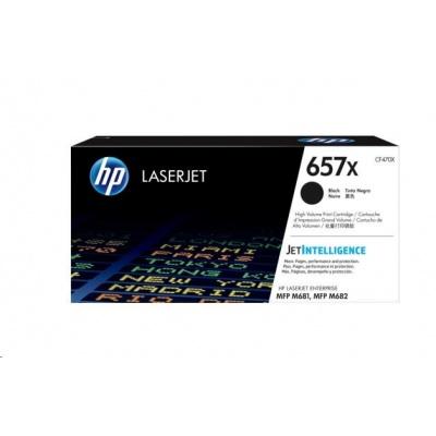 HP 657X High Yield Black Original LaserJet Toner Cartridge (CF470X)
