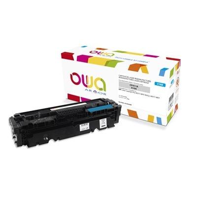 OWA Armor toner pro HP Color Laserjet Pro M377, M452, M477, 2300 Stran, CF411A, Cyan