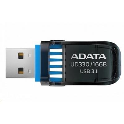ADATA Flash Disk 16GB USB 3.1 DashDrive™ UD330, černý