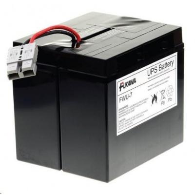 Baterie - FUKAWA FWU-7 náhradní baterie za RBC7 (12V/18Ah), životnost 3-5let