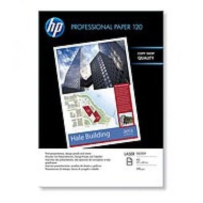 HP Professional Glossy Laser Paper 120 gsm-250 sht/A3/297 x 420 mm,  120 g/m2, CG969A