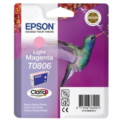 "EPSON ink bar CLARIA Stylus photo ""Kolibřík"" R265/ RX560/ R360 - light magenta"
