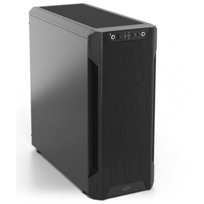 """SilentiumPC Armis AR7  Skříň formátu ATX nabízí tři 3,5"""" pozice pro pevné disky a čtyři 2,5"""" pozice pro SSD disky. Na předním panelu se nachází dva USB 3.0 porty, sluchátkový výstup a audio vstup pro mikrofon. Panel s konektory lze navíc dle libosti snadno přemístit do spodní části. Osazena je dvěma 120 mm ventilátory na čelní straně a jedním na zadní straně. Chytré dispoziční řešení umožňuje osazení skříně celkem až sedmi ventilátory. Skříň je dodávána bez zdroje.  Provedení skříně: Middle Tower  Externí pozice: 2 x 5,25""""  Interní pozice: 4 x 2,5"""", 3 x 3,5""""  Kompatibilita základní desky: Mini-ITX, MicroATX, ATX  Zdroj: bez zdroje  Konektory na předním panelu: 1 x audio výstup, 1 x vstup pro mikrofon, 2 x USB 3.0  Rozměry: 518 x 508 x 233 mm  Hmotnost: 8,92 kg  Barva: černá"""