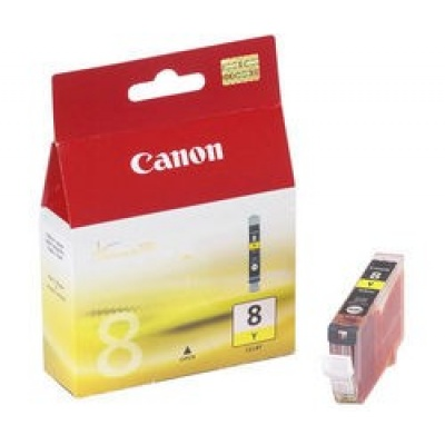 Canon BJ CARTRIDGE yellow CLI-8Y (CLI8Y) - BLISTER SEC