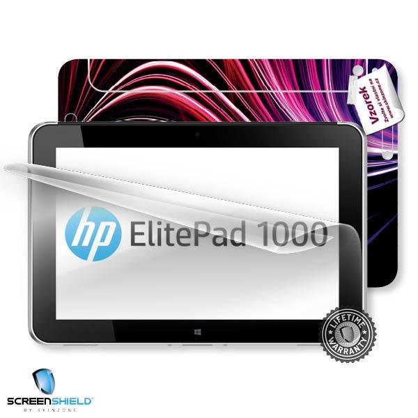 ScreenShield fólie na displej + skin voucher (včetně poplatku za dopravu k zákazníkovi) pro HP ElitePad 1000 G2