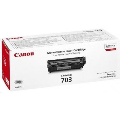 Canon LASER TONER black CRG-703 (CRG703) 2 000 stran*