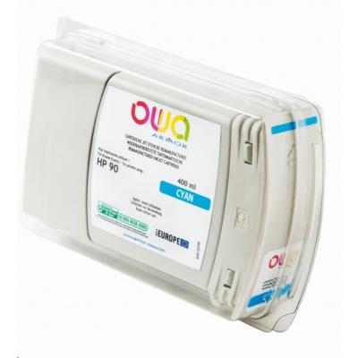 OWA Armor cartridge pro HP DesignJet 4000, 4020, 400ml, C5061A, Cyan