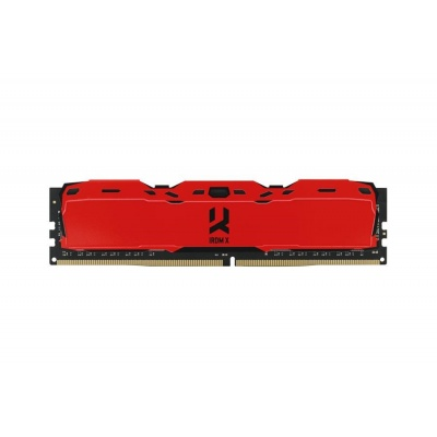 DIMM DDR4 16GB 3000MHz CL16 SR (Kit 2x8GB) GOODRAM IRDM, red