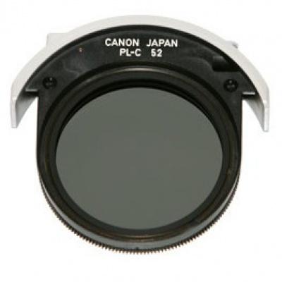 Canon filtr 52 mm PL-C polarizační filtr Drop-In