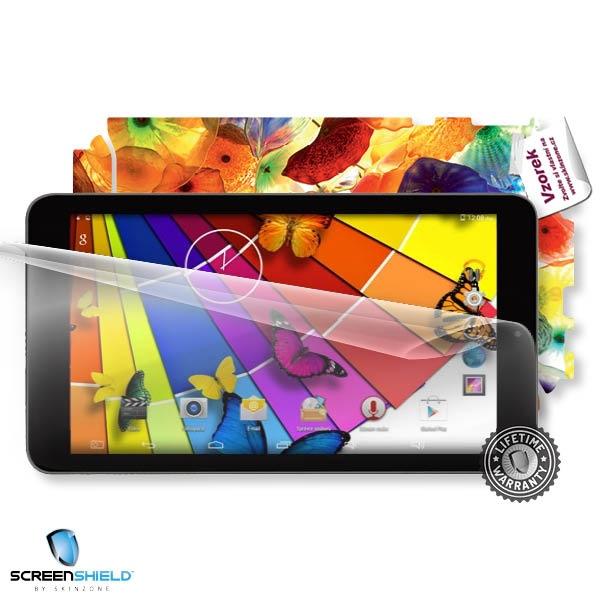 ScreenShield fólie na displej + skin voucher (vč. popl. za dopr. k zákazníkovi) pro Umax Visison 7Q GPS
