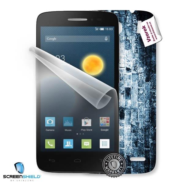 ScreenShield fólie na displej + skin voucher (vč. popl. za dop. k zákazníkovi) pro Alcatel One Touch 5042D Pop 2