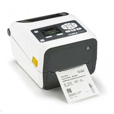 "Zebra TT tiskárna etiketZD620 4"" LCD, 4"" Healthcare, 300 dpi, BTLE, USB, USB Host, RS232 &LAN"