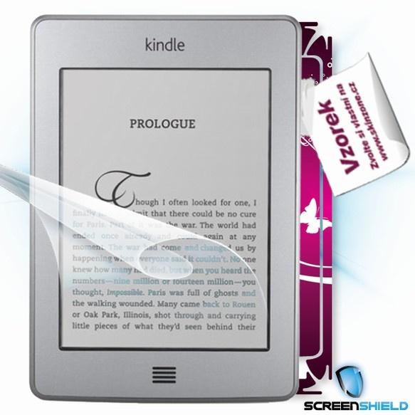 ScreenShield fólie na displej + skin voucher (včetně poplatku za dopravu k zákazníkovi) pro Amazon Kindle Touch