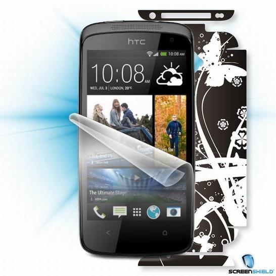 ScreenShield fólie na displej + skin voucher (včetně poplatku za dopravu k zákazníkovi) pro HTC Desire 601