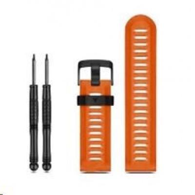 eses silikonový řemínek dírkovaný oranžový pro Garmin Fenix 3/5X/5X Plus/5X Sapphire/3HR