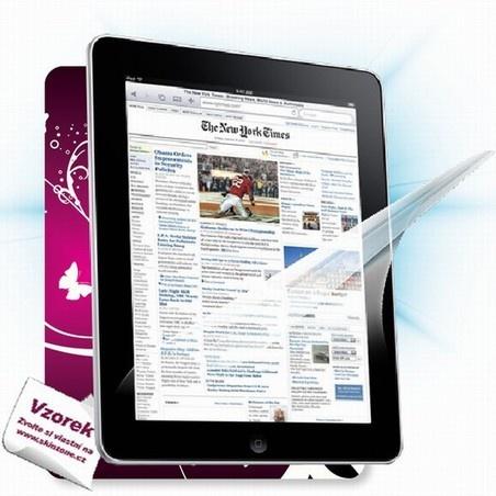 ScreenShield fólie na displej + skin voucher (včetně poplatku za dopravu k zákazníkovi) pro Apple iPad 3