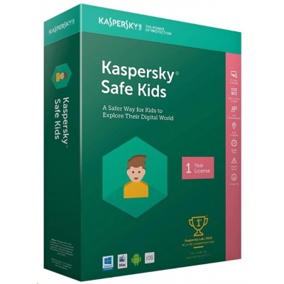 Kaspersky Safe Kids 2019 CZ 1 zařízení / 1 rok