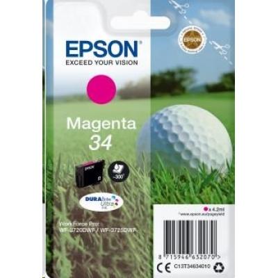 "EPSON ink bar Singlepack ""Golf"" Magenta 34 DURABrite Ultra Ink 4,2 ml"