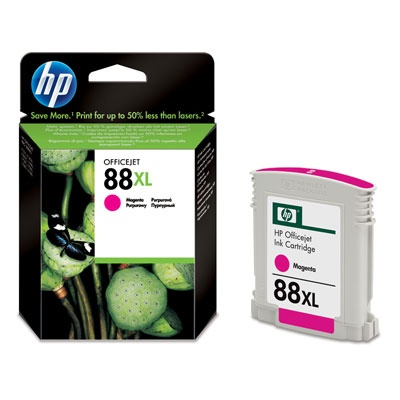 HP 88XL Magenta Ink Cart, 17,1 ml, C9392AE
