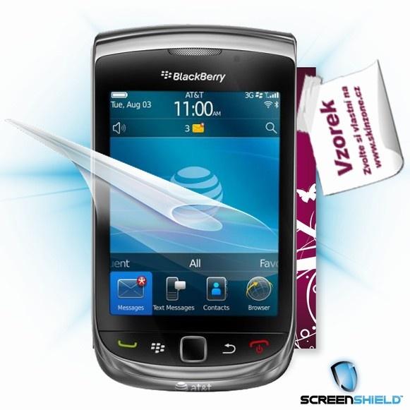 ScreenShield fólie na displej + skin voucher (včetně poplatku za dopravu k zákazníkovi) pro BlackBerry 9800 Torch