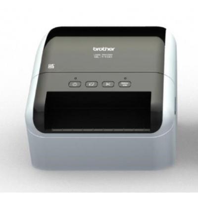 BROTHER tiskárna štítků QL-1100 - 101,6mm, termotisk, USB, Profesionální Tiskárna Štítků