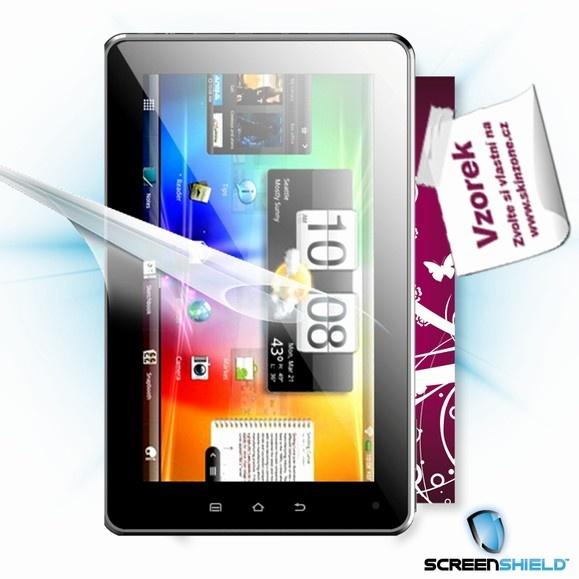 ScreenShield fólie na displej + skin voucher (včetně poplatku za dopravu k zákazníkovi) pro GoClever Tab A73