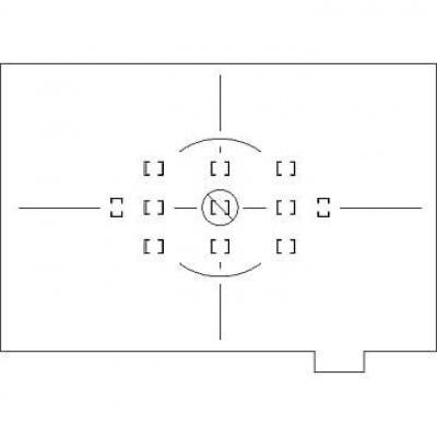 NIKON zaostřovací matnice typu L pro F6