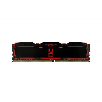 DIMM DDR4 16GB 3000MHz CL16 SR (Kit 2x8GB) GOODRAM IRDM, black
