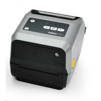 """Zebra TT tiskárna etiket ZD620 4"""" 300 dpi, USB, USB Host, BTLE, Seriál, LAN, řezačka"""