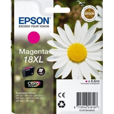 bazar EPSON Ink bar Magenta Claria Home (6,6 ml)