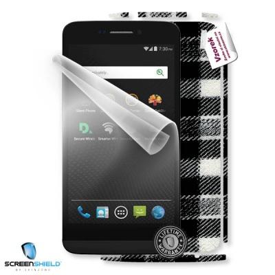ScreenShield fólie na displej + skin voucher (včetně poplatku za dopravu k zákazníkovi) pro Blackphone BP1
