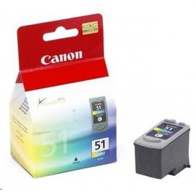 Canon BJ CARTRIDGE colour CL-51 (CL51) BLISTER SEC