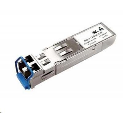 SFP transceiver 1,25Gbps, 1000BASE-LX, SM, 10km, 1310nm (FP), LC dup., 0 až 70°C, 3,3V, DMI, Cisco komp.