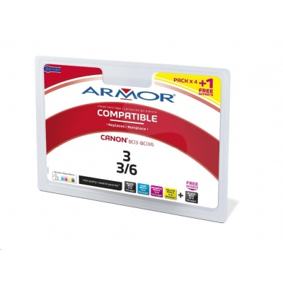 ARMOR cartridge pro CANON i560/ i865,iP3000/iP4000/iP5000 multipack (BCI-3a6)