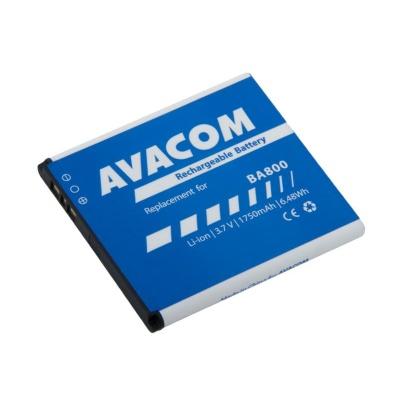 AVACOM baterie do mobilu Sony Ericsson Li-Ion 3,7V 1750mAh (náhrada BA800)