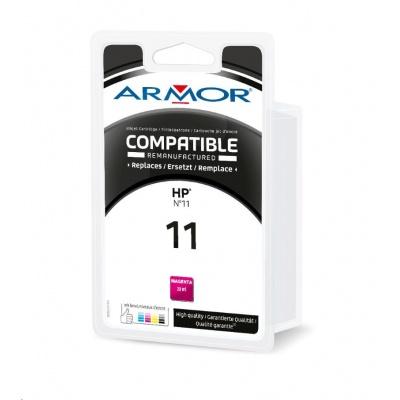 ARMOR cartridge pro HP Officejet 9110/9120/9130 magenta / červená (C4837A) 28ml, 2000 stran