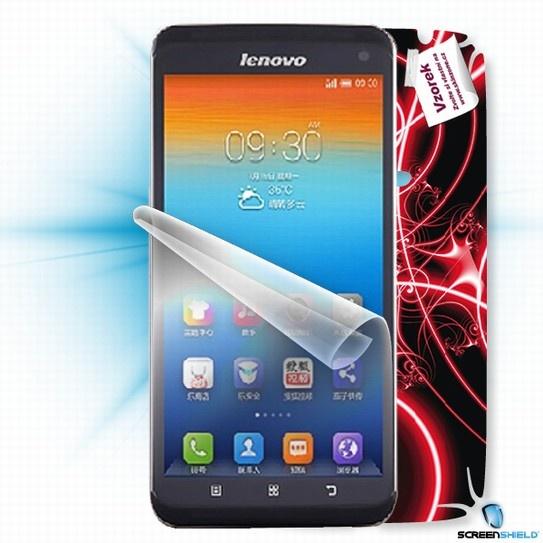 ScreenShield fólie na displej + skin voucher (vč. popl. za dopr. k zákazníkovi) pro Lenovo S930