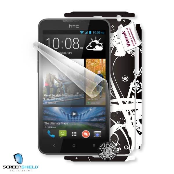 ScreenShield fólie na displej + skin voucher (včetně poplatku za dopravu k zákazníkovi) pro HTC Desire 516