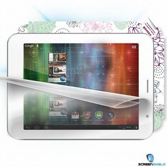 ScreenShield fólie na displej + skin voucher (vč. popl. za dopr. k zákazníkovi) pro Prestigio Multipad PMP 7480D3G QUAD