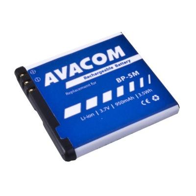 AVACOM baterie do mobilu Nokia N81, 6500 Slide Li-Ion 3,7V 950mAh (náhrada BP-5M)