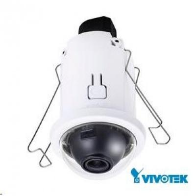 Vivotek FD816CA-HF2, 2Mpix,30sn/s, obj. 2.8mm (122°), PoE, WDR, MicroSDXC, 3DNR, Rossini, vnitřní