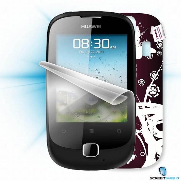 ScreenShield fólie na displej + skin voucher (včetně popl. za dopr. k zákazníkovi) pro Huawei Y100