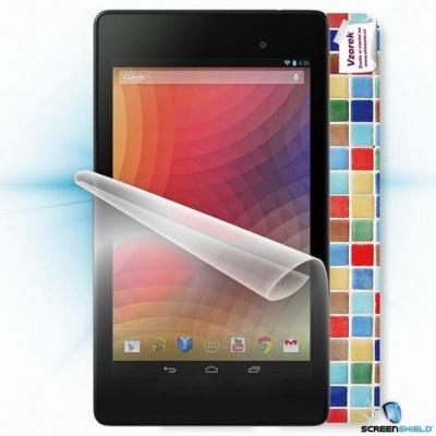 ScreenShield fólie na displej + skin voucher (včetně popl. za dopr. k zákazníkovi) pro Asus Nexus 7 K008 (2013)