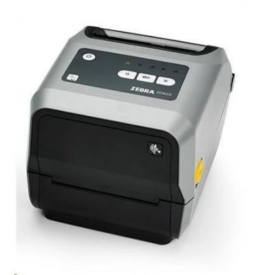 """Zebra TT tiskárna etiket ZD620 4"""" , 300 dpi, USB, USB Host, BTLE, RS232,LAN, odlepovač"""