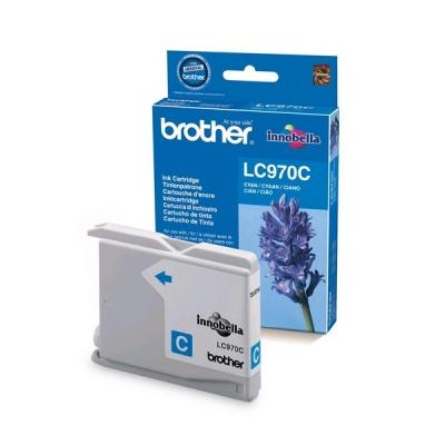 BROTHER INK LC-970C cyan (EW*) cca 300