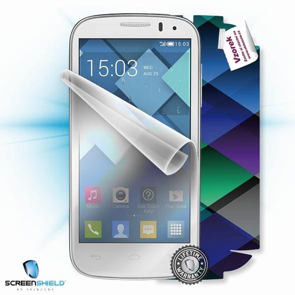ScreenShield fólie na displej + skin voucher (včetně popl. za dopr. k zákazníkovi) pro Alcatel One Touch 5036D Pop C5