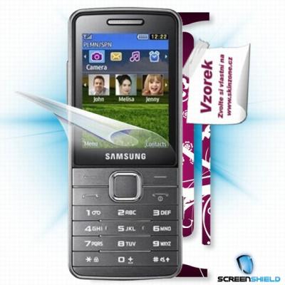 ScreenShield fólie na displej + skin voucher (včetně poplatku za dopravu k zákazníkovi) pro Samsung S5610